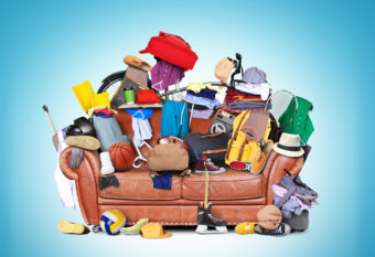 Spring De-cluttering
