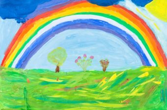 Children's artwork – overwhelm or celebration?